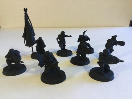 Elysian Command Squad