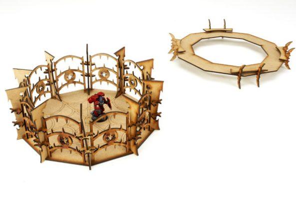 Elf dualing arena